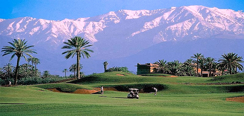 Golf 2 Green fees : 3j/2n - Riad + 2 Parcours Green fees for 2 pers..............265 € / person