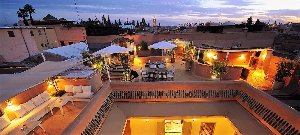 Riad Marrakech with pool : 3 jours / 2 nuits avec une Excursion ...............145 € / person